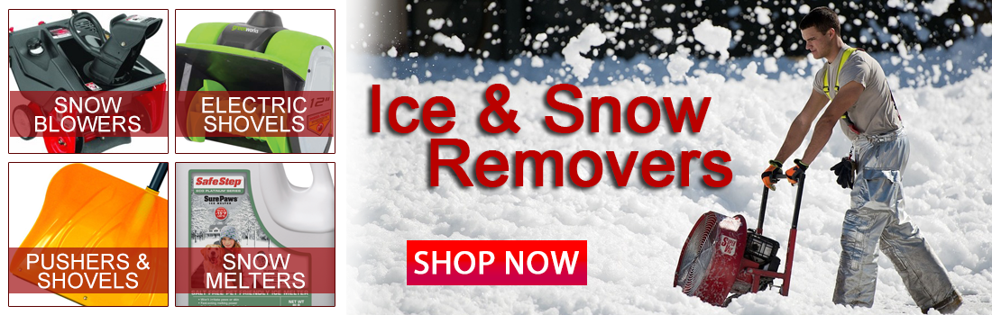 Snow and Ice Removers